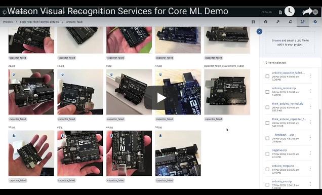 Impressive Video! Watson Visual Recognition Services for Core ML